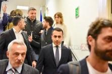 Luigi di Maio a Perugia, grave blocco emendamento al decreto sanità