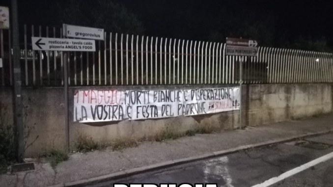 """Sinlai, ForzaNuova e Lotta Studentesca: """"Voi al concertone, noi con i lavoratori"""""""