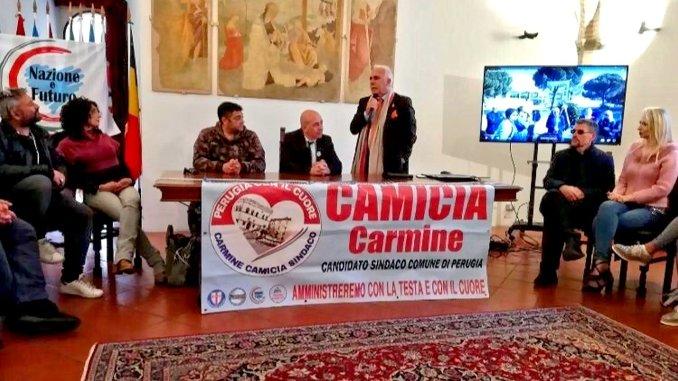 Antonio Pappalardo, il generale, sostiene Carmine Camicia