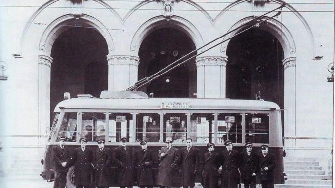 La filovia o funivia di Piazza Matteotti