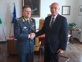 Procuratore generale Cardella incontra Generale GDF Lipari