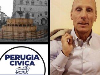 Massimo Pici insieme a Romizi al Cva di Montelaguardia di Perugia