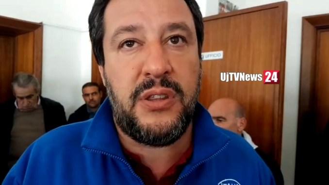 Inchiesta sanità, Salvini non entra nel merito dell'inchiesta, subito elezioni