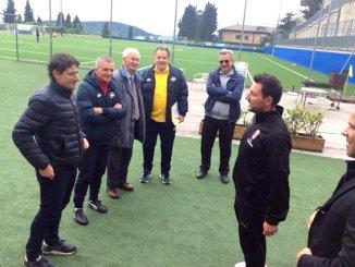 Riccardo Gaucci alla PSG Don Bosco, siglato gemellaggio con la Floriana