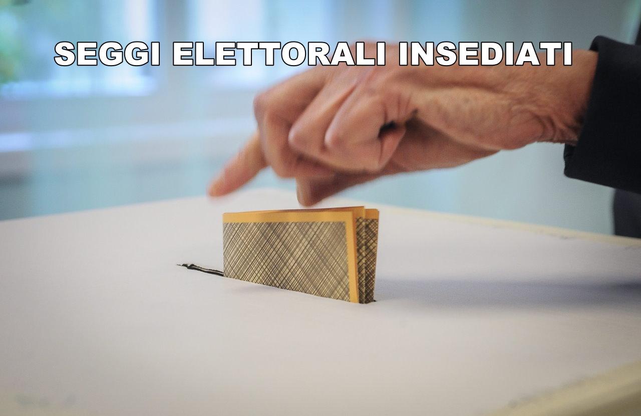 Europee insediati i seggi, in Umbria al rinnovo anche 63 sindaci