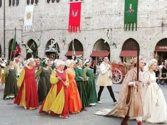 Perugia 1416, Rione di Porta Eburnea pronto ad eleggere la prima dama