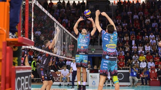 Volley, la Cucine Lube Civitanova vince gara 4 di finale contro la Sir Safety