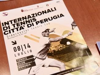 Internazionali di tennis città di Perugia, l'appuntamento a luglio 2019