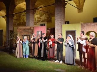 Gli amici di Artemio Giovagnoni successo a Perugia 1416 teatro in dialetto