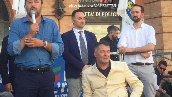 Ministro Matteo Salvini, ballottaggi sono come un calcio di rigore
