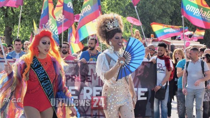 Primo Umbria Pride 6 giugno lesbiche, gay, bisessuali, trans e intersex