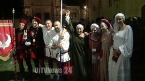 Perugia 1416, Rione Porta Sant'Angelo vince Tiro del Giavellotto