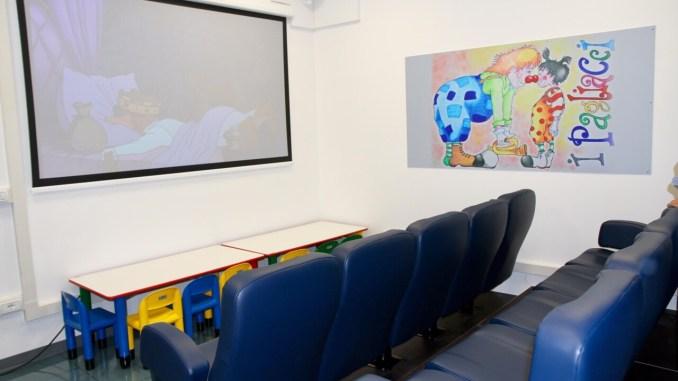 Cinema in Pediatria, inaugurato all'ospedale di Terni
