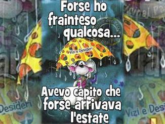 Inizio settimana col maltempo in Umbria e nel resto dell'Italia  VIDEO
