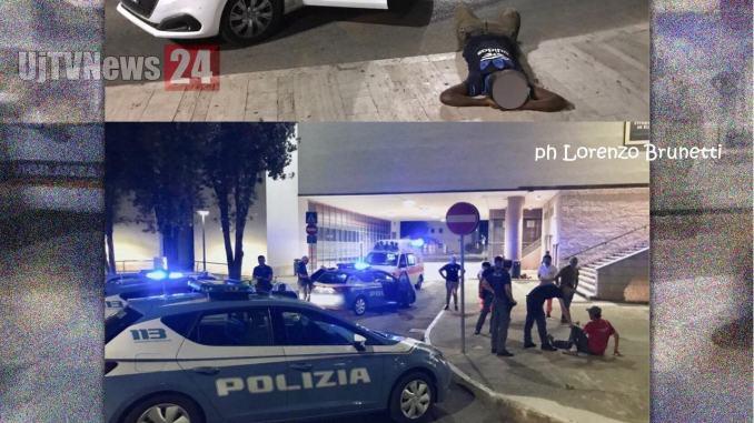 Fontivegge, ferisce un magrebino e scappa, inseguito e preso da Lorenzo Brunetti