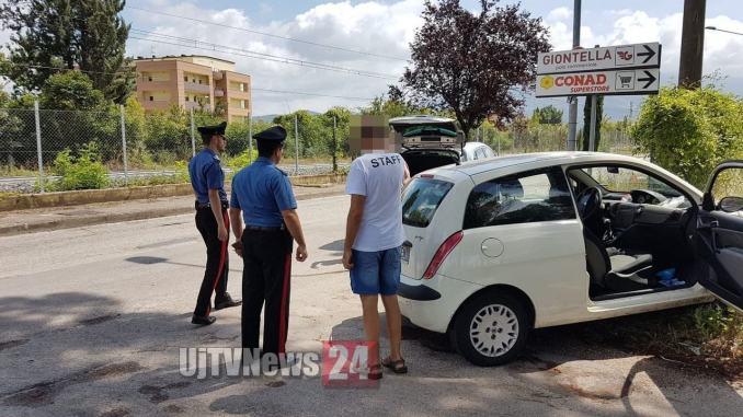 Incidente a Bastia Umbra, due auto si scontrano frontalmente, feriti