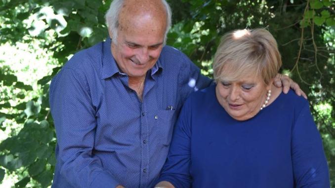 Mezzo secolo insieme nozze d'oro per Rossana Bennie Sergio Bartoccioni