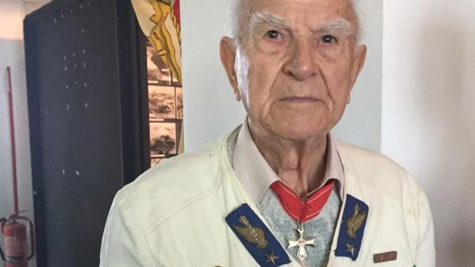 Morto ultimo parà di El Alamein, Santo Pelliccia reduce, lutto nella Folgore