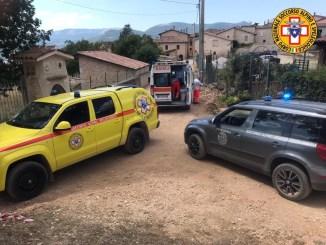 Soccorso Alpino e Speleologico Umbria salvano escursionista a Cascia
