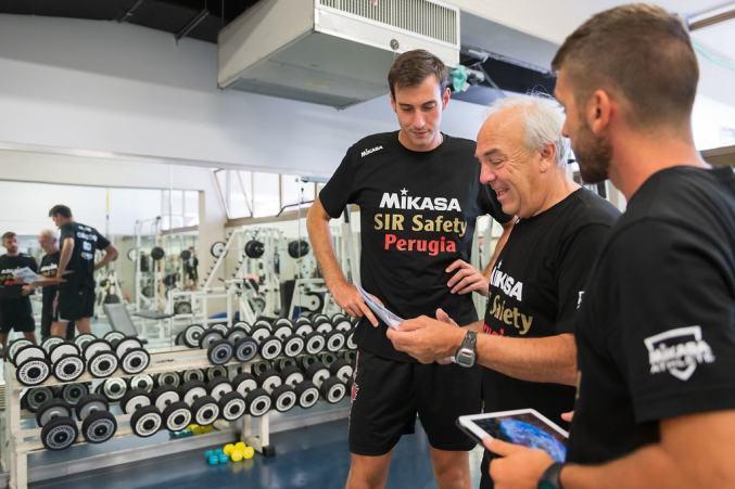 Alberto Castelli è il nuovo vice preparatore atletico della Sir Safety Conad