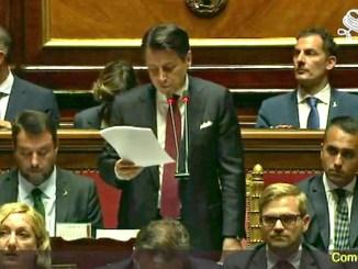 Durissimo Giuseppe Conte contro il leader della Lega, Matteo Salvini, Governo finito