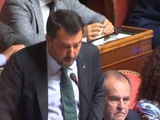 Duello durissimo al Senato tra Premier Conte e Ministro Salvini