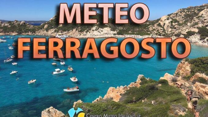 Arriva intensa ondata di caldo a Ferragosto poi generale cambio dal 15
