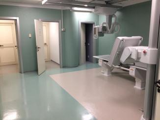 Sistema radiologico digitale installato all'ospedale di Orvieto