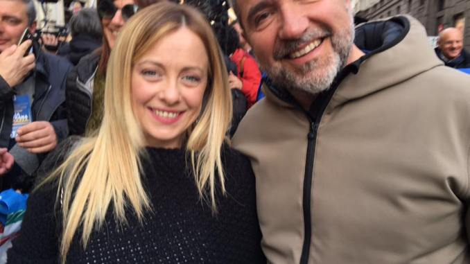 Giorgia Meloni torna a Perugia per presentare lista Fratelli d'Italia
