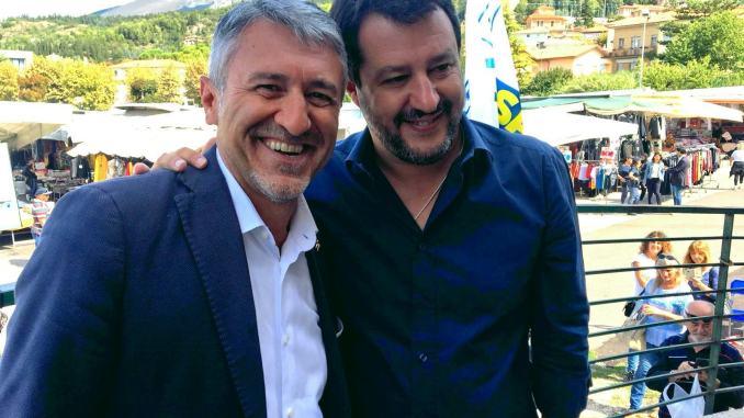 """Valerio Mancini, il leghista che sorride, è nella """"rosa dei venti"""" candidati"""