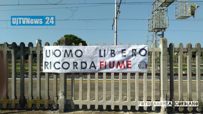 Compare nella notte manifesto di CasaPound ad Assisi, ricorda Fiume