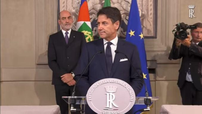 Ricostruzione, Conte, sarà la priorità ed ex presidente Marini dà qualche spunto da semplice cittadina