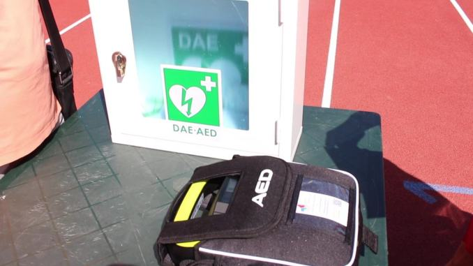 Da oggi lo Stadio Santa Giuliana è dotato di un defibrillatore