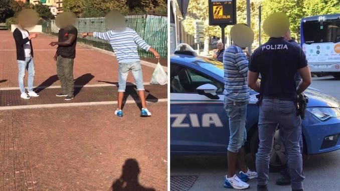 Tunisino minaccia italiano a Fontivegge. Droga? Spunta anche un coltello