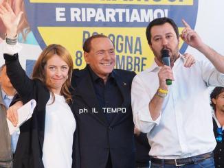 Meloni, Salvini e Berlusconi arrivano i big dei partiti del centrodestra, il programma