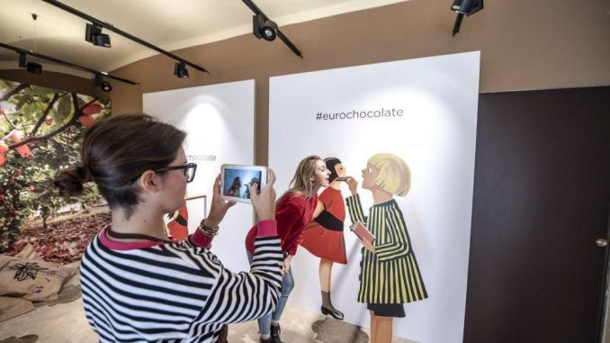 Logge di Braccio riapre il Nome Made & PhotoChoc Store by Eurochocolate