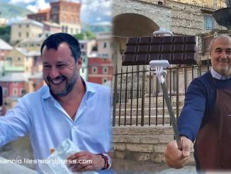Eugenio Guarducci sfida Matteo Salvini a colpi di selfie, il guanto di sfida