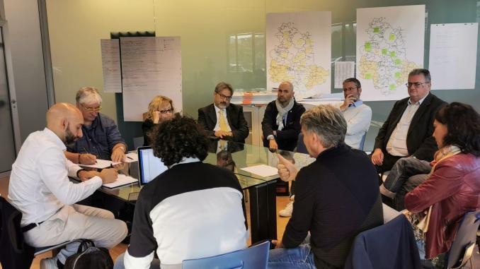 Elezioni Umbria, lavoro e impresa, Bianconi incontra i sindacati