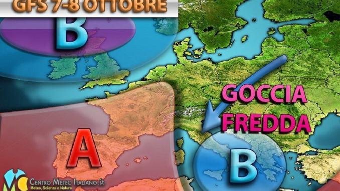 Il mese di ottobre si apre col maltempo, svolta fredda in Italia, e da noi?