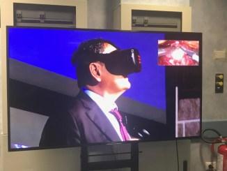 Operazione chirurgica in diretta con la realtà immersiva 5G, a Terni