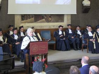 Giuliana Grego Bolli inaugura anno accademico UnistraPg, la relazione [VIDEO]