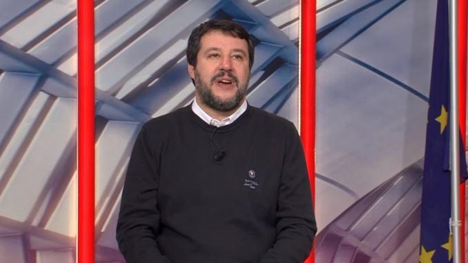 Salvini a Perugia per inaugurare la sede della Lega a Fontivegge