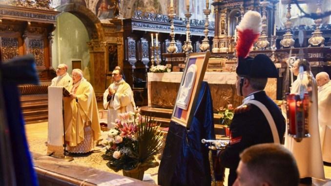 I carabinieri dell'Umbria festeggiano la Virgo Fidelis