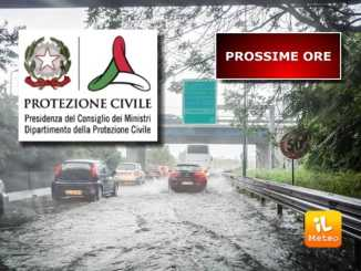Maltempo, è allerta in 11 regioni, temporali e burrasche, arancione in Umbria [VIDEO]