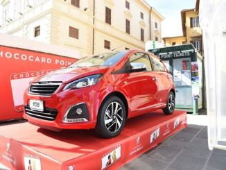 Concorso ChocoCard 2019, destinazione Salerno per l'ambita Peugeot 108 Allure