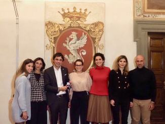Baiocco d'argento per meriti sportivi ad Enrico Antinoro e Costanza Laliscia | Foto