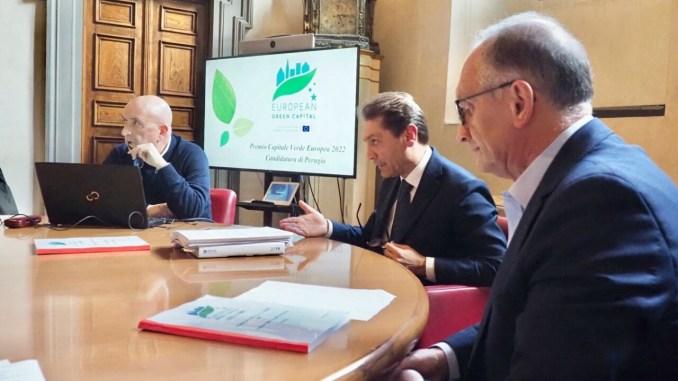 Capitale verde Europea 2022, Perugia è candidata, presentato dossier