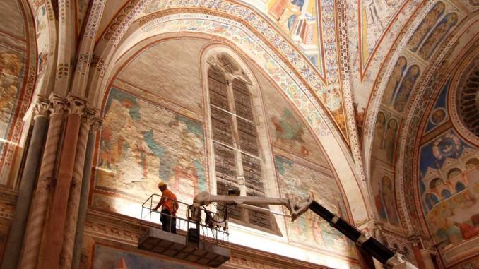 Ventesimo anniversario riapertura basilica San Francesco dopo terremoto del '97