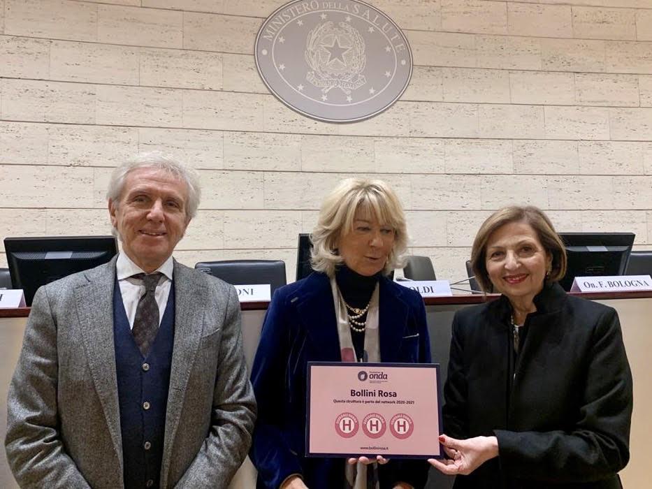 Tre Bollini rosa assegnati all'Azienda ospedaliera Santa Maria di Terni