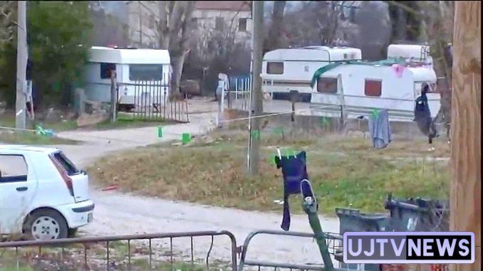 """Rom Sinti Caminanti sul piede """"pacifico"""" di guerra a Foligno"""